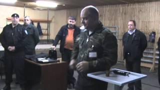 сдача экзамена на лицензию охранника (спец. средства)  применение газового болончика и электрошока