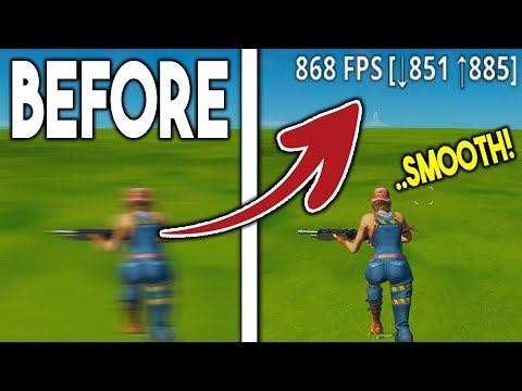 ULTIMATE FPS BOOST GUIDE In Fortnite! (How To BOOST Your FPS!)