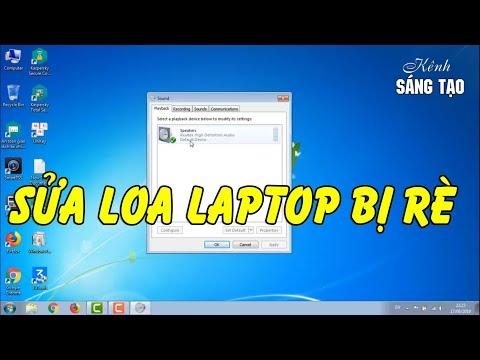 Hướng Dẫn Sửa Loa Laptop Bị Rè Rất đơn Giản Bạn Có Thể Tự Làm