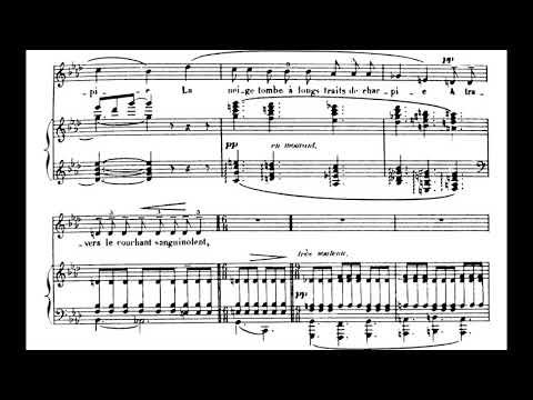 Debussy - 3 Mélodies de Verlaine (1891)