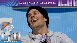 Patriots Best Moments From Super Bowl LII Media Night | NFL
