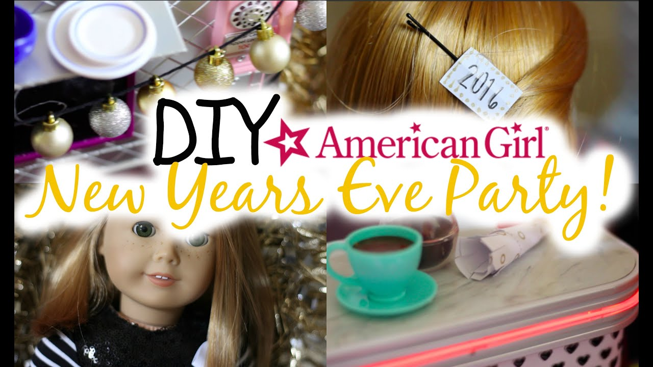 diy american girl new years party decor hats more youtube