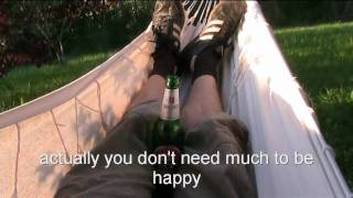 Becks Beer makes you happy