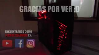 pC GAMER PARA 1080p 60FPS INTEL CORE I7 Y GTX 1060TecBox Colombia TIME LAPSE BUILD