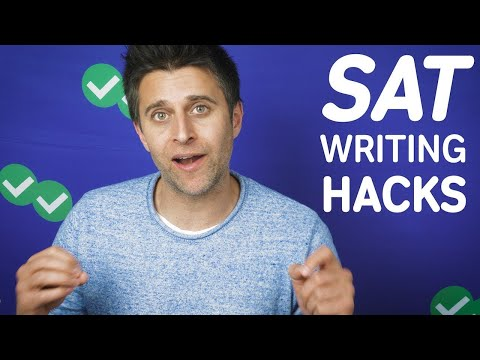 SAT Writing ESSENTIAL Tips and Strategies