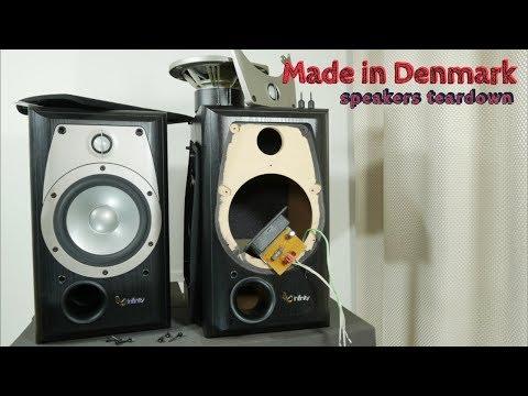 Look Inside Infinity Alpha 20 Speaker - What's Inside?