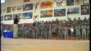 Senator Obama With U.S. Troops in Kuwait