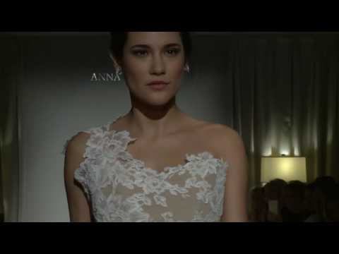 Anna Maier Spring 2018 Collection Runway Show @ Bridal Fashion Week