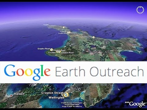 Google Earth outreach-New York International Airport (Amazing View )