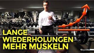 Längere Wiederholungen = Mehr Muskeln! | Trainingstipps  | Tim Gabel