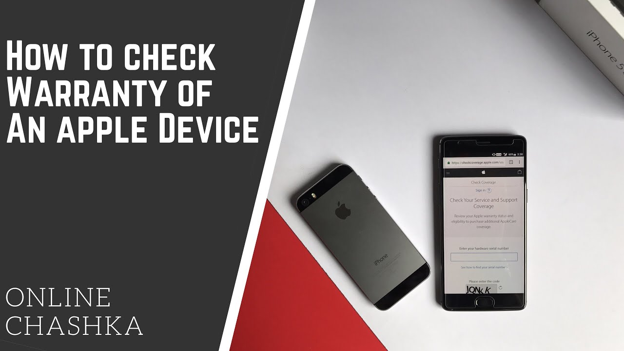 How to Check Warranty of iPhone | Apple iPhone Warranty Check | Mac  Warranty Check