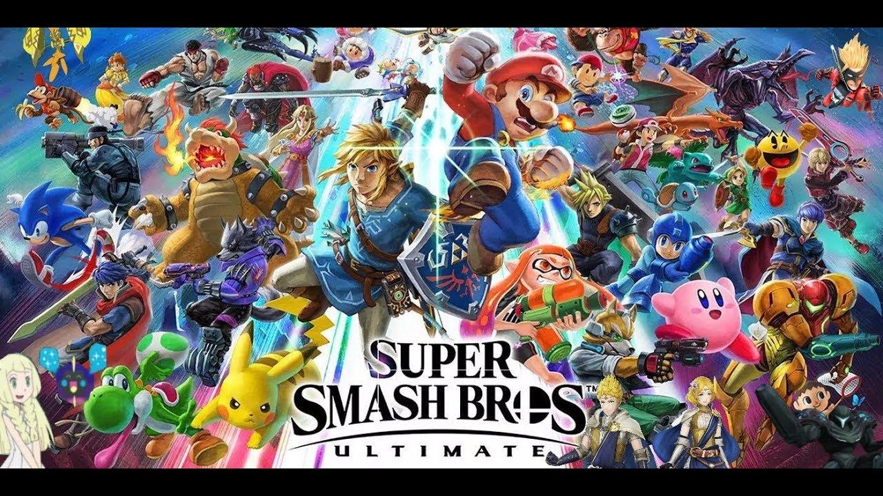 Download Super Smash Bros Ultimate Intro Smash 4 Style