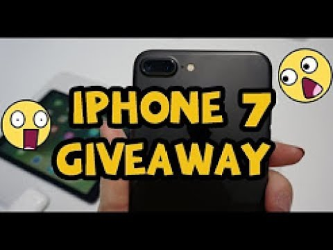 free iphone giveaway iphone 7 giveaway win a free iphone 7 1281