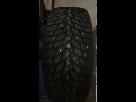 Шина зимняя Dunlop Sp Winter Ice 02 195/55 R16 91T Шип - YouTube
