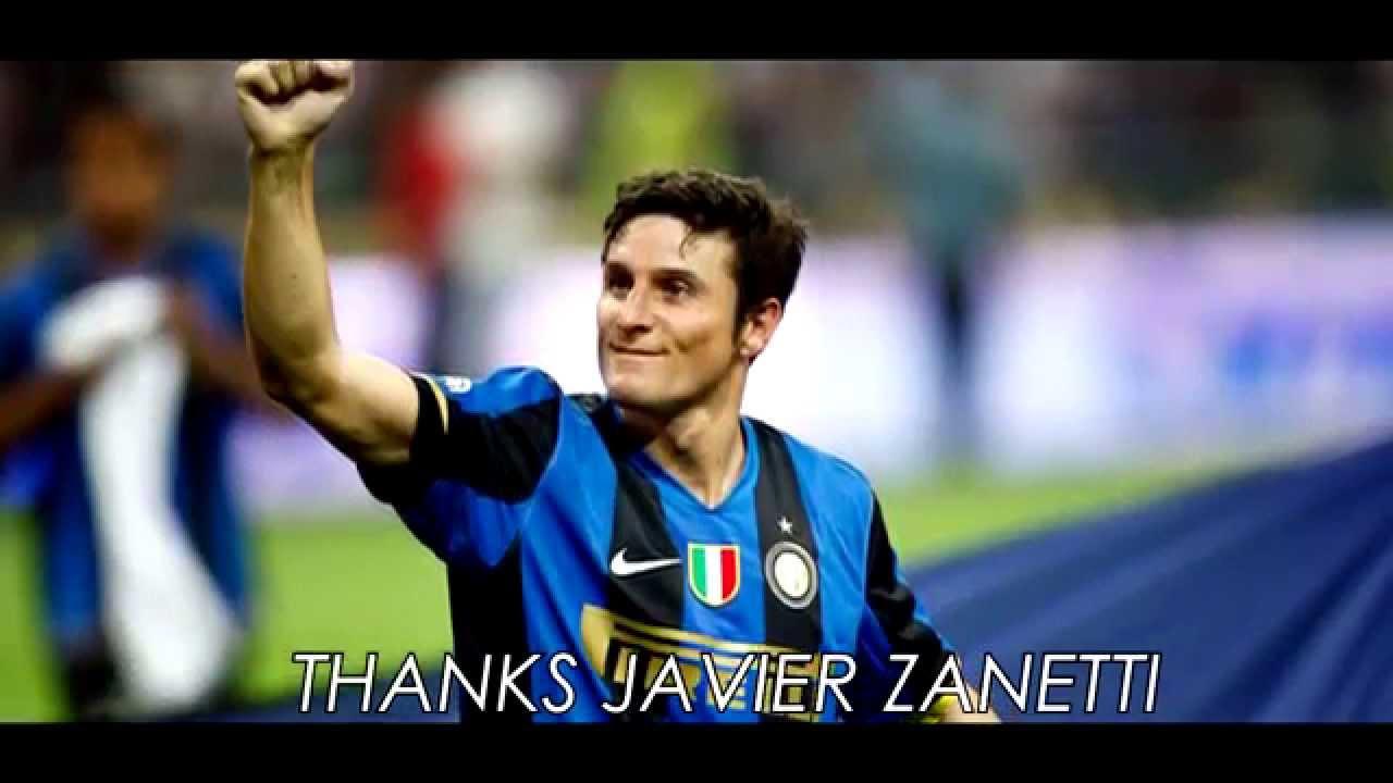 Javier Zanetti Memories In Inter 1995 2014
