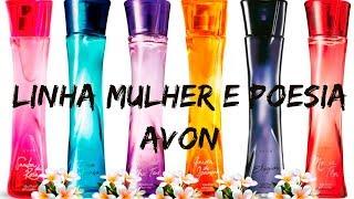 Perfumes Avon. Mulher e Poesia, inspirado na obra de Vinicius de Moraes.