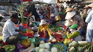 SÀI GÒN #155: Chợ Xóm Củi (Quận 8) do ảnh hưởng Corana nên vắng người hơn trước
