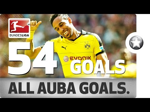 Pierre-Emerick Aubameyang - All His Goals for Borussia Dortmund