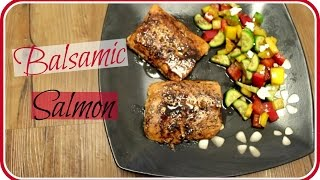 Quick & Easy Balsamic Salmon | Recipe