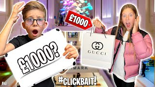 GUESS THE PRICE, I'LL BUY IT FOR YOU CHALLENGE!! *NO BUDGET