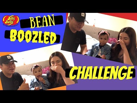 BEAN BOOZLED CHALLENGE!!! FAMILY EDITION WITH A TODDLER