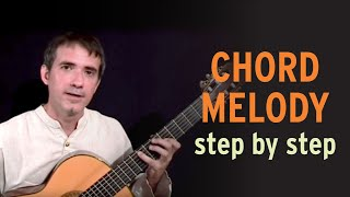 Introduction to Chord Melody on Guitar - Improvise for Real Mp3