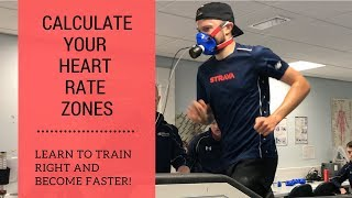 How to Calculate Heart Rate Zones for Running - train right and get FASTER!!