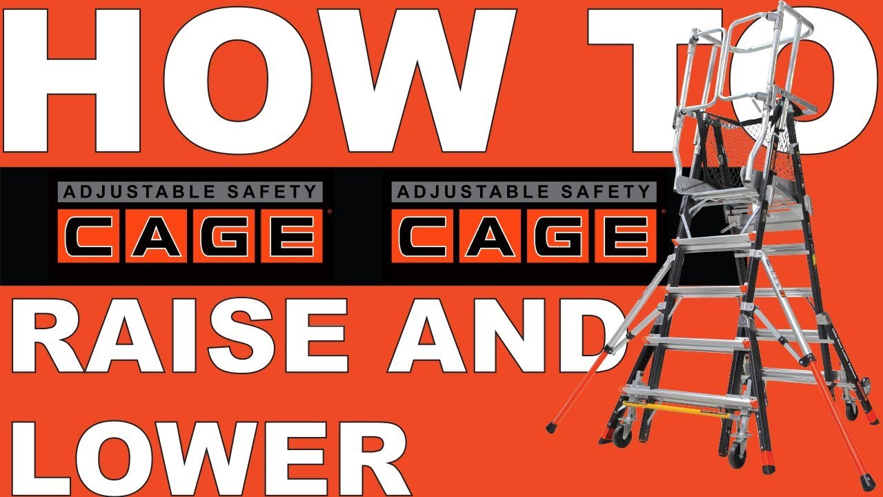 Little Giant Ladders How To Raise And Lower The 8 14