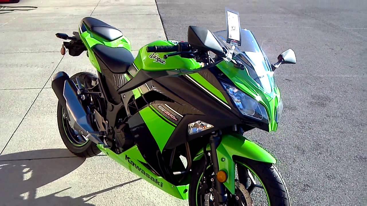 2013 Kawasaki Ninja 300 Team Green Special Edition Youtube