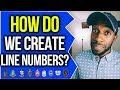 HOW DO WE CREATE LINE NUMBERS!? | NPHC ADVICE | COREY JONES