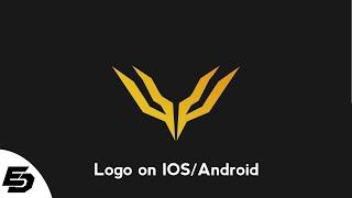 как сделать логотип на IOS/Android  How to make logo on IOS/Android