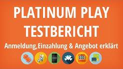 Platinum Play Casino Testbericht: Anmeldung & Einzahlung erklärt [4K]