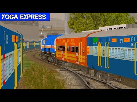 Yoga Express || MSTS Open Rails || Indian Train simulator