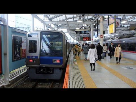 Seibu Shinjuku-Haijima Line driver's view from Haijima to Seibu-Shinjuku in Japan