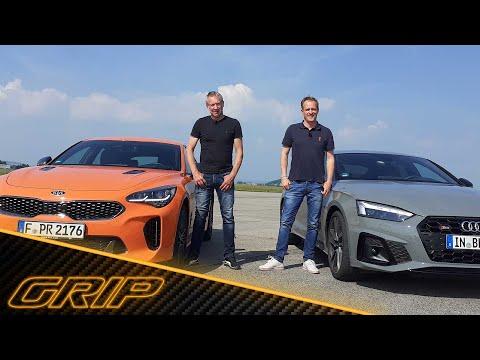 Helden aus der zweiten Reihe: Kia Stinger GT vs. Audi S5 Sportback TDI 😎🔥   GRIP