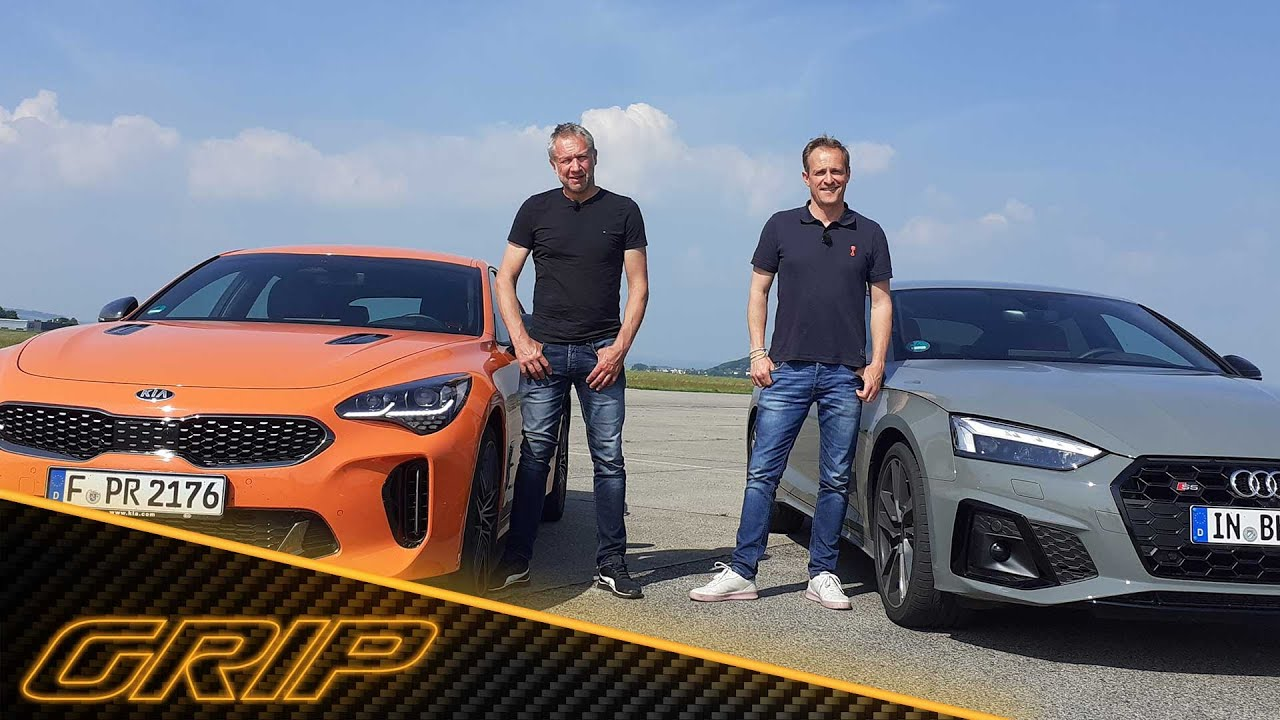 Download Helden aus der zweiten Reihe: Kia Stinger GT vs. Audi S5 Sportback TDI 😎🔥 | GRIP