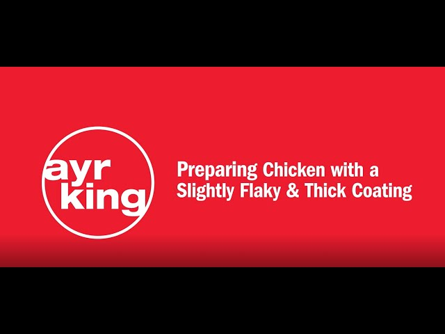 FRIED CHICKEN: Slightly Flaky and Thick Coating