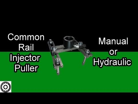 Common Rail Injector Puller Fixture with 10T Hydraulic Ram option