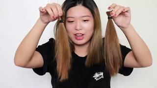 I cut my hair by MYSELF??? 我自己剪头发了