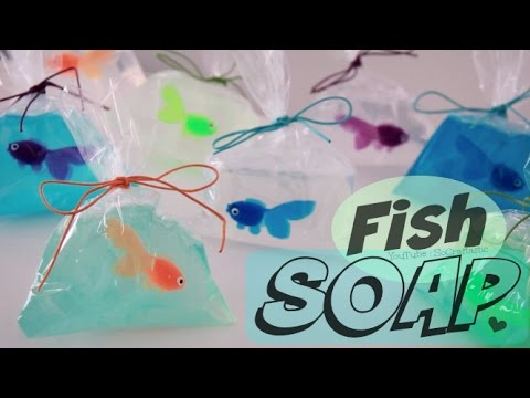 Thumbnail: DIY Fish in a Bag Soap - Easy Soap Making How To for Beginners