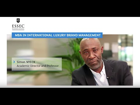MBA in International Luxury Brand Management Program Presentation