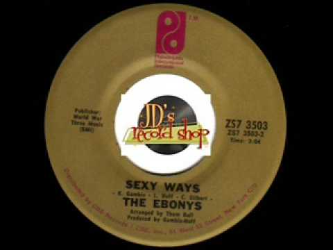 THE EBONYS Sexy Ways SOUL 45 rpm