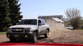 Chevy Avalanche 2002 5.3L Burn Out