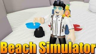 I ALREADY TURN on the BEACH! 😂 Roblox Beach Simulator