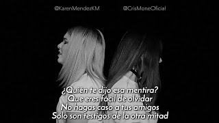 Karen Méndez ft. Cris Moné - Besos en Guerra (Cover Morat,...