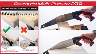 Roamwild Multi Pullsaw PRO - HD Japanese Pull Saw