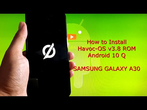 Samsung Galaxy A30: Havoc-OS v3.8 ROM Android 10 Q