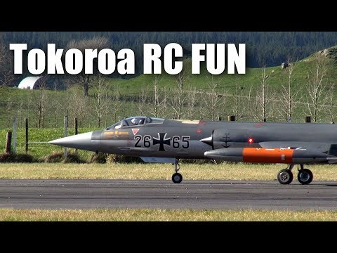 RC jets, drones, gokarts and mid-winter sun in Tokoroa