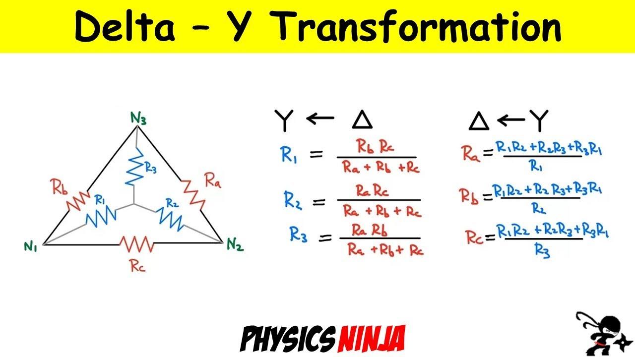Proof of Wye (Y) - Delta Transformation