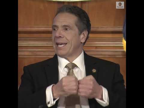 NY Gov. Cuomo: 'You want to go to work? Go take a job as an essential worker.' | ABC News